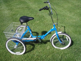 True Fold and Go Trike True Bicycle, Fold and Go, Trike, Tricycle